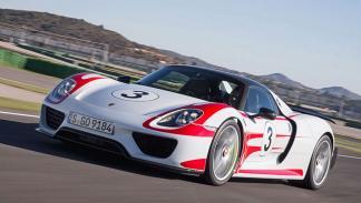 Porsche 918 Spyder en circuito