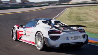 Porsche 918 Spyder trasera
