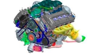 Hyundai Genesis 2014 motor