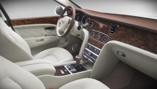 Bentley Birkin Mulsanne interior