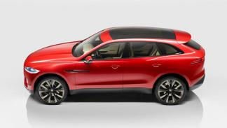 Jaguar C-X17 Sports Crossover Concept lateral