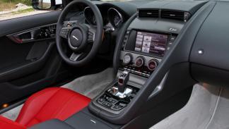 Jaguar F-Type S V8 interior
