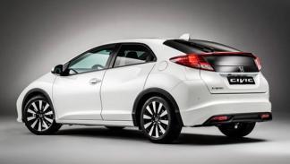Honda Civic 2014 trasera