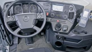 Mercedes Actros/Arocs SLT interior