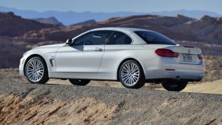 BMW 435i Cabrio trasera capota