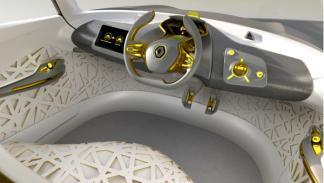 Interior del Renault Kwid Concept