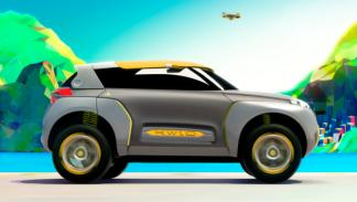 Lateral del Renault Kwid Concept