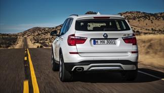 BMW X3 2014 trasera