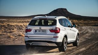 BMW X3 2014 movimiento