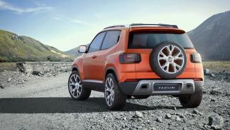 Volkswagen Taigun 2014, nueva trasera