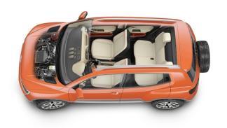 Volkswagen Taigun 2014, techo