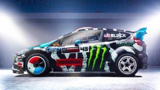El Ford Fiesta de Ken Block para el World RX 2014