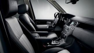 Land Rover Discovery 'XXV Special Edition' interior