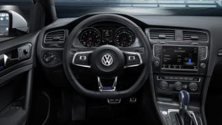 El VW Golf GTE está equipado con un cambio DSG de seis relaciones