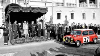 Entrega de premios Rally de Montecarlo