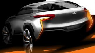 Hyundai Intrado boceto