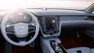 Interior del Volvo Concept Estate