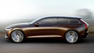 Lateral del Volvo Concept Estate