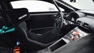 Lexus RC F GT3 interior