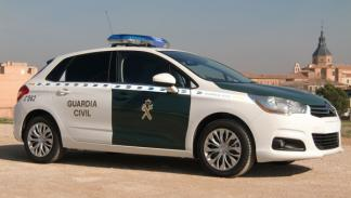 Citroën C4 Guardia Civil lateral