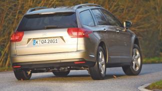 Citroën C5 Tourer prueba larga duración dinámica trasera