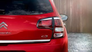 Citroën C3 2013 ópticas traseras