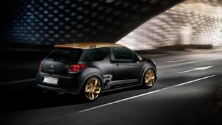 Citroën DS3 Racing Gold Mat trasera