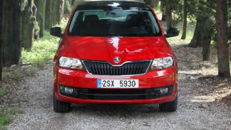 Skoda spaceback frontal