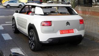 Trasera del Citroën Cactus