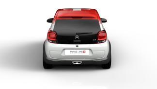 Citroën C1 Swiss & Me trasera