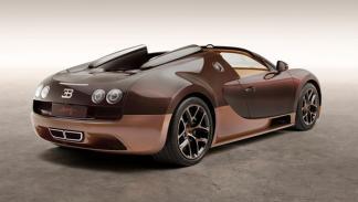 Bugatti Veyron Rembrandt Bugatti trasera