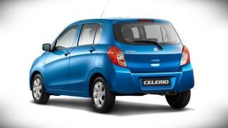 Suzuki Celerio Salón de Ginebra 2014 tres cuartos trasera
