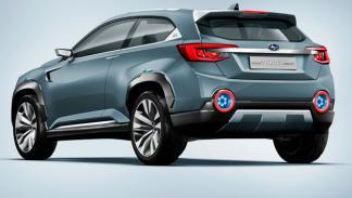 Subaru VIZIV-2 Concept trasera