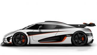 Koenigsegg One:1 lateral
