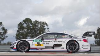 BMW M4 DTM 2014 en circuito