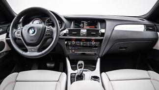 BMW X4 2014 interior