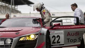 Felix Baumgartner Audi R8 Nurburgring