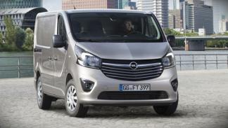Nuevo Opel Vivaro 2014 delantera