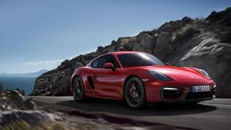 Porsche Cayman GTS delantera
