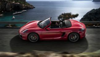 Porsche Boxster GTS lateral