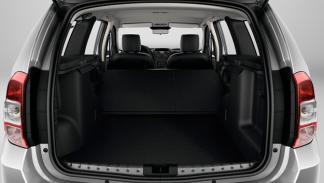 Dacia Duster 2013 maletero
