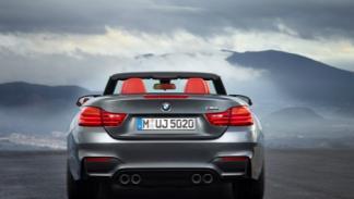 BMW M4 Cabrio trasera