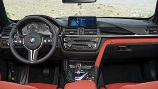 BMW M4 Cabrio interior