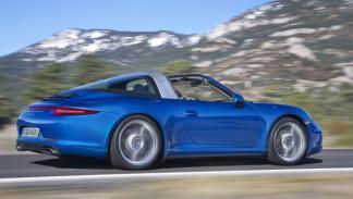 Porsche 911 Targa 2014 perfil