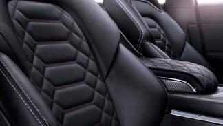 Los asientos de los modelos Vignale llevarán un cuero suave y costuras en rombo