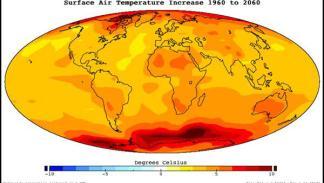 Cambio de las temperaturas 1960-2060