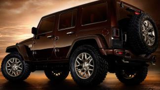 Jeep Wrangler Sundancer Concept trasera