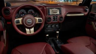 Jeep Wrangler Sundancer Concept interior