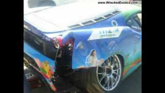 Accidente Ferrari F430 Tom Boonen