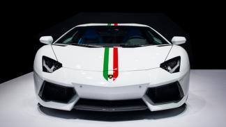 Lamborghini Aventador Nazionale frontal